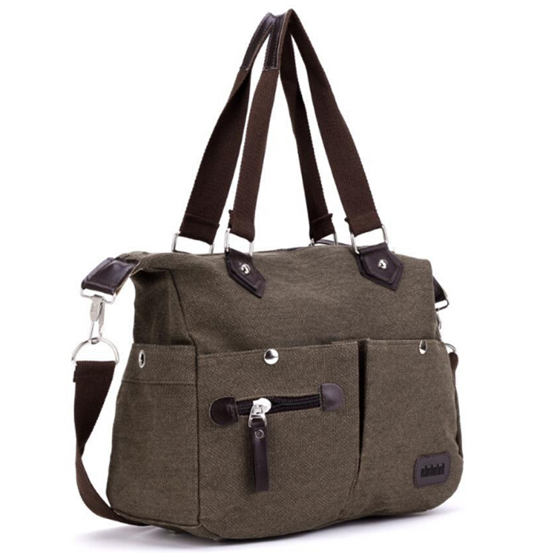 travel bag women canvas Large Capacity Luggage Bags X174 48%OFF