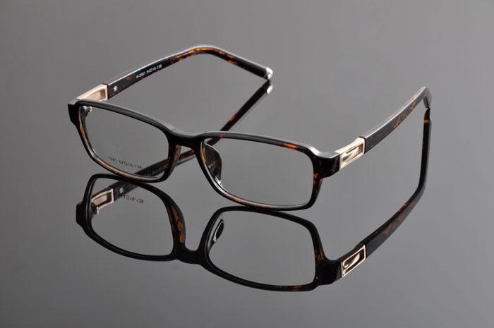 Новые роскошные очки оправы для мужчин и женщин TR90 оптические оправы Рецептурные очки armacoes очки de grau femininoD0893 - Цвет оправы: leopard