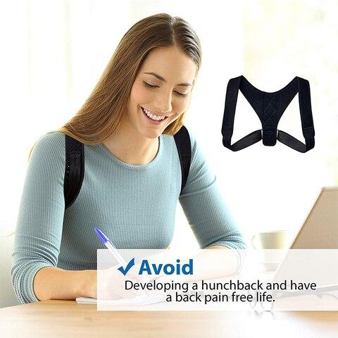 Adjustable Medical Men/women Back Posture Corrector Clavicle Spine Back Shoulder Lumbar Brace Support Belt Posture Correction 03 Islamabad