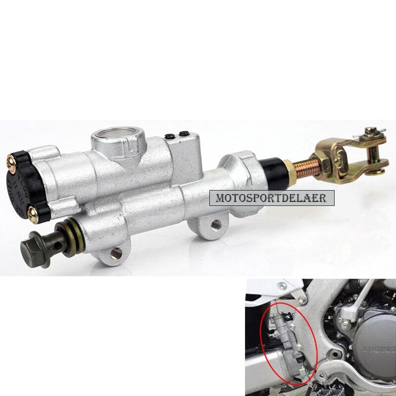 High Quality Motorcycle Rear Brake Master Cylinder Pump For CR125R CR250R CR 125R CRF250R CRF250X CRF450R CRF 250R 450R 02-2017