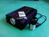75W LED optical fiber light engine,AC85 260V input,with 20key RF remote