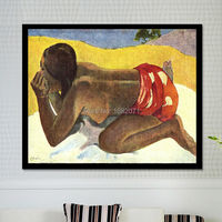 Professional Factory Wholesale High Quality Paul Gauguin Alone Oil Painting On Canvas Reproduction Alone Oil Paintings