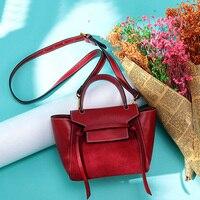 2018 Luxury Brand Trapeze Platinum Bags Designer Women Cow Leather Shoulder Bag Scrub Genuine leather Messenger Bag Casual Tote