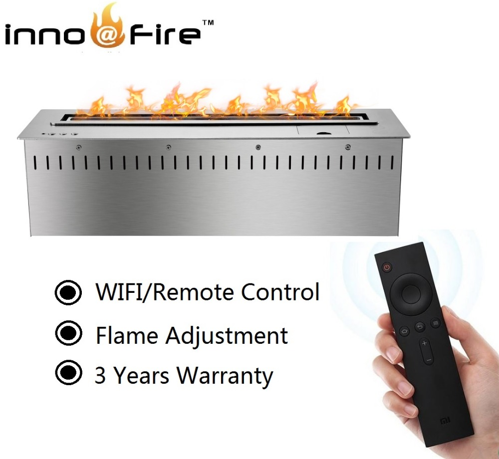 On Sale 48 Inch Electric Burner With Remote Control Ethanol Fireplace Stove