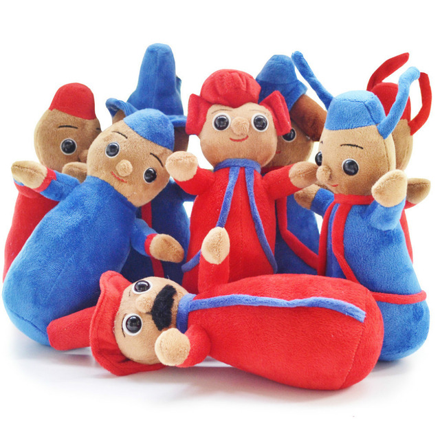 10 height cute plush toy dolls In the Night Garden The Pontipines