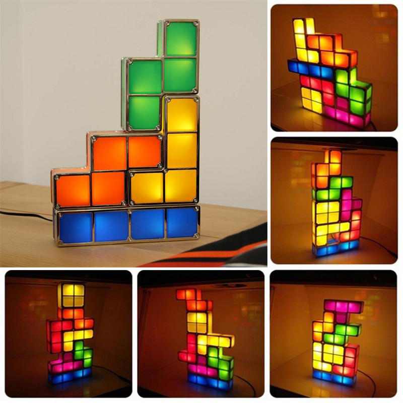 Online Buy Wholesale tetris stackable led desk lamp from China