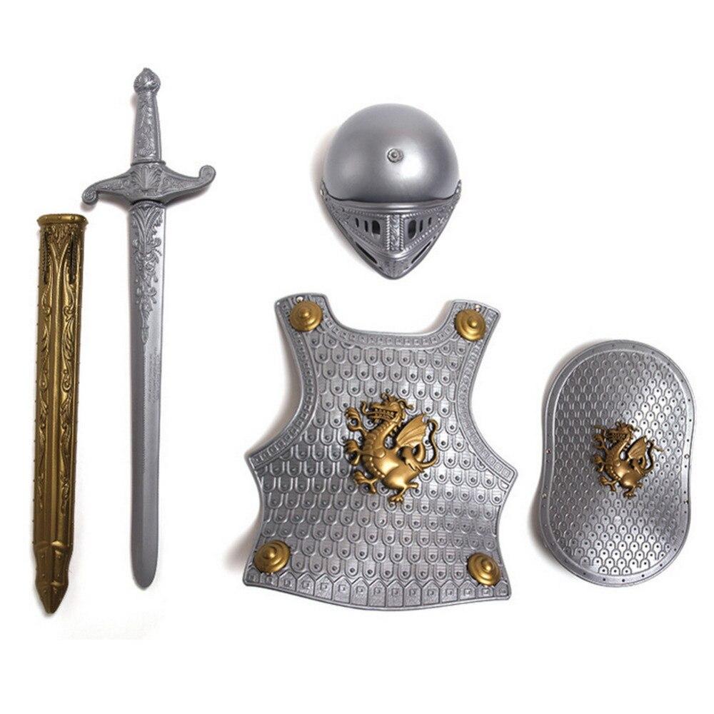 Medieval Roman Gladiator Costume Helmet,Armor,Shield & Sword - Buy ...