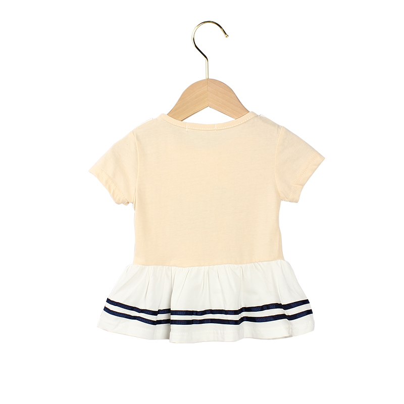 0 5 3yeas Casual Summer Baby Girl Dress Cotton Navy Dress Infant Girl Dresses Toddler Baby Girl Clothes in Dresses from Mother Kids