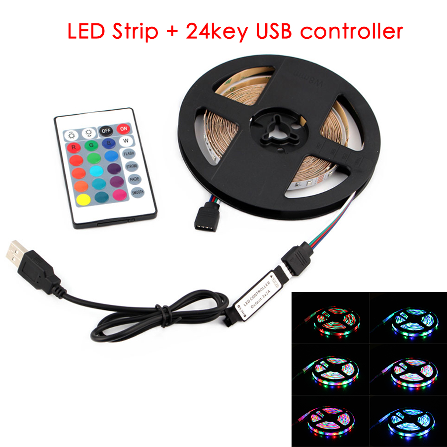 led strip +24key usb controller