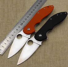 2016 newest 440c blade G10 handle 440 steel blade folding knife outdoor camping knife survival tool Tactical knives