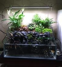 1pcs Aquarium light Fish Tank Ultra Bright SMD Led Light Lamp Dimmable 30/40/50/60cm White Aquatic plants Aquarium Led Lighting