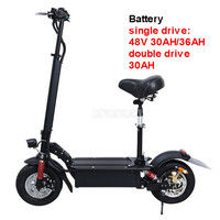 48V 30AH/36AH 11 inch Wheel Foldable Adult Electric Scooter Mini Electric Bicycle Instead Of Walking Ebike Mileage 100km/120km