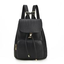 Высокое качество модные женские туфли мягкие однотонные кожаные рюкзаки мини маленький рюкзак для девочек школьные рюкзаки сумка Mochila Feminina