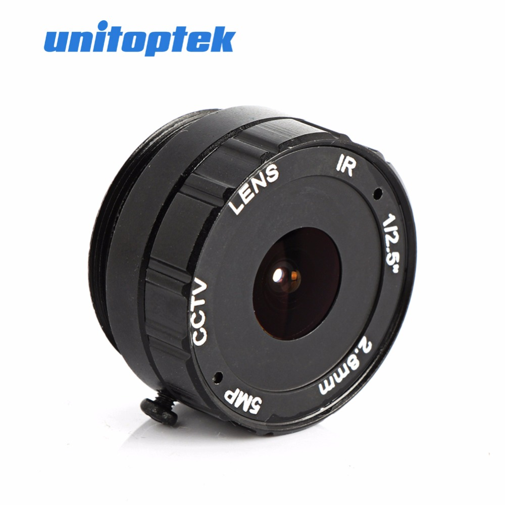 2.8MM 120 Degree CCTV Camera Lens CS Mount Monofocal Manual Iris CCTV Lens Support IP Analog Camera 5MP L cs 8mm cctv camera lens fixed iris monofocal alloy with nail