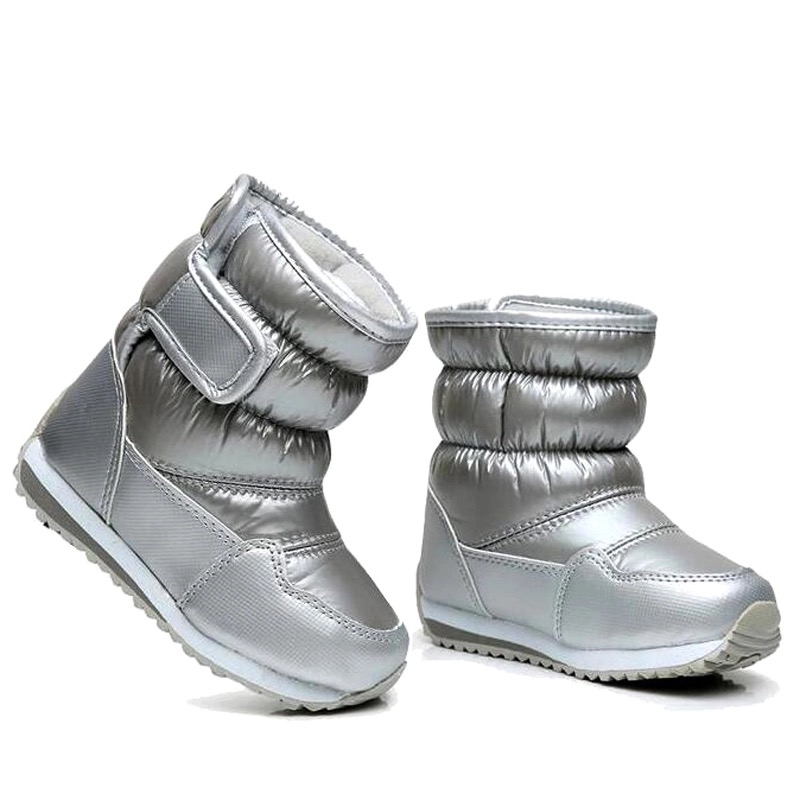 Children's Rubber Boots For Girls Boys Mid-calf Bungee Hook Loop Snow Boots Waterproof Boot Sport Shoes Fur Lining Kids Boot snow toddler fur warm boots soft mid calf kids booties waterproof baby winter pink shoes little girls boys infant boot kt902