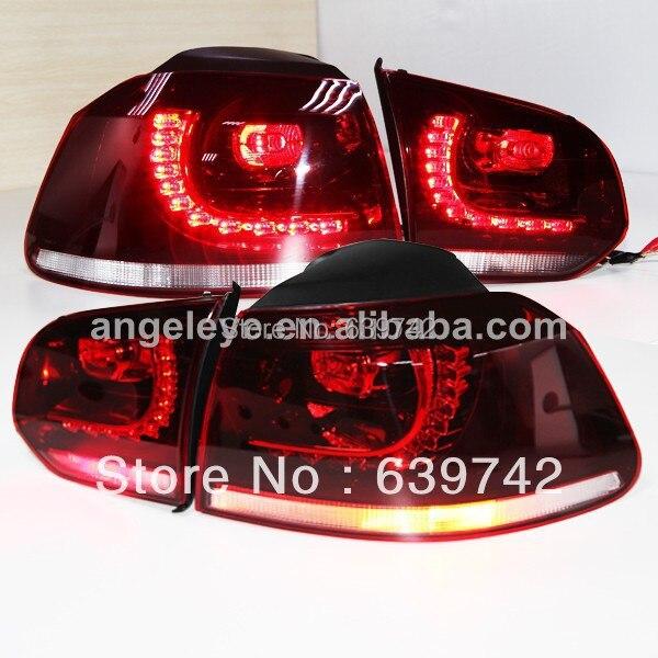 VW Golf 6 LED aizmugurējā luktura aizmugurējā luktura 2009-2012 - Auto lukturi
