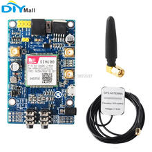 SIM808 Module GSM GPRS GPS Development Board with IPX SMA Antenna Replace SIM908 for Arduino
