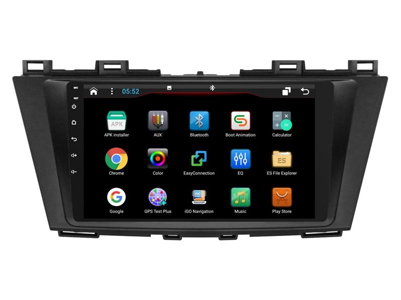 OTOJETA DSP стерео carplay android 8,1 автомобильное радио для мазада 5 Premacy bluetooth автомобильные аксессуары Gps навигационная лента рекордер