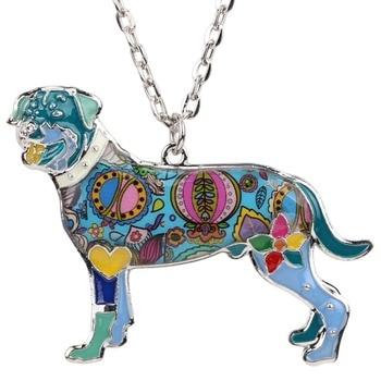 Rottweiler Choker Necklace Pendant