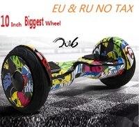 Reborn 10 Inch Self Balancing Scooter Electric Skateboard 2 Wheel Smart Balance Hoverboard Skateboard Oxboard Adult