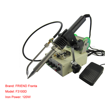 1pcs Automatic tin feeding machine constant temperature soldering iron Teclast iron F3100D multi-function foot soldering machine