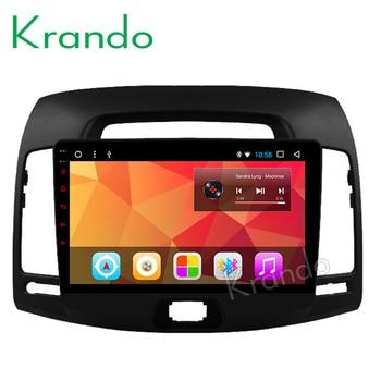 "Krando Android 8.1 9"" IPS Big screen car multimedia system for HYUNDAI ELANTRA 2007- 2011 navigtaion player GPS wifi bluetooth"