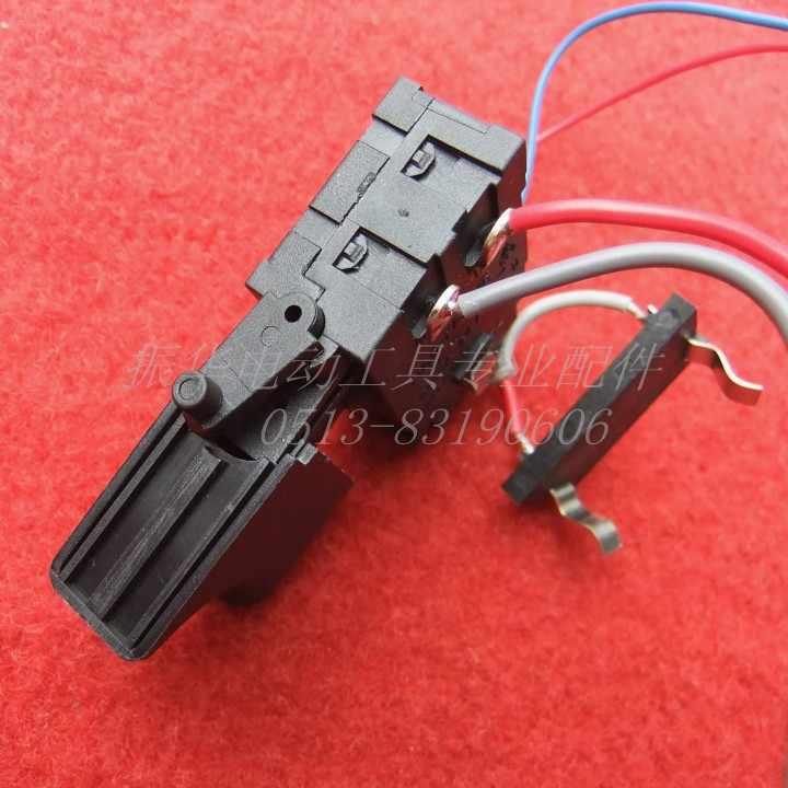 Gratis verzending! enkele pc snelheid schakelaar 192FA gelden Makita 10.8 V lithium batterij boor met DC lamp