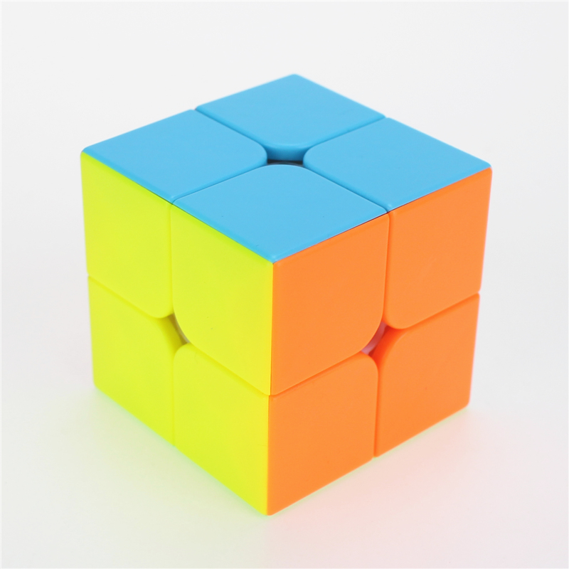 QiYi QIDI S 2x2 Magic Cube Competition Speed Puzzle Cubes Toys For Children Kids Cubo Stickerless Matte Cube