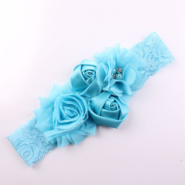Lace Baby Flower Headband