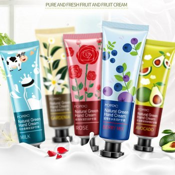 1pcs Plant Extract Fragrance Hand Cream Antiseptic Hand Hydra Moisturizing Nourishing Anti-chapping Whitening Hand Skin Care