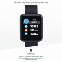 COLMI Sport3 Smartwatch Android Watches Sports Fitness,Color Touch Screen Hear Rate Blood Pressure Bluetooth English Russian