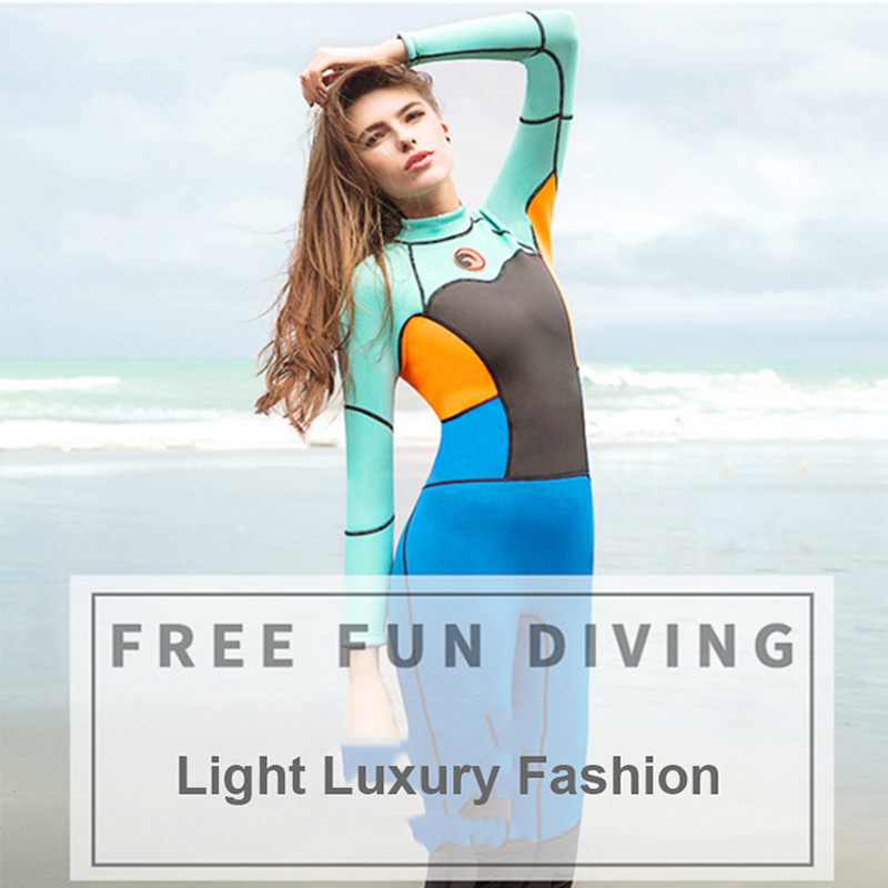 Newest Scuba Diving Suits Neoprene Swimming Suit For Women Girls Water Sports Wet Jump Jumpsuit Swimwear Wetsuit Rash Guards high quality cortex 3 5mm surf diving wet suits jacket men women surfing diving spearfishing wet suit long sleeve jacket wetsuit