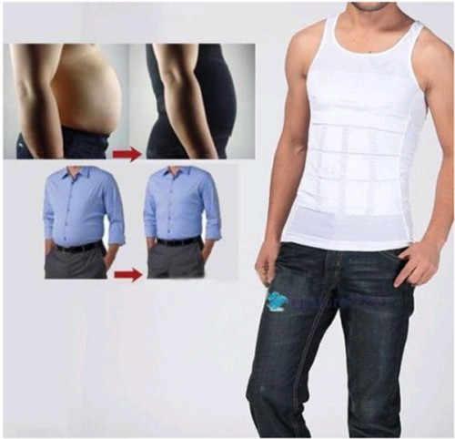 2018 Новый Модный популярный мужской живот для похудения формирователь жилет нижнее белье Корректирующее белье Пояс живота рубашка