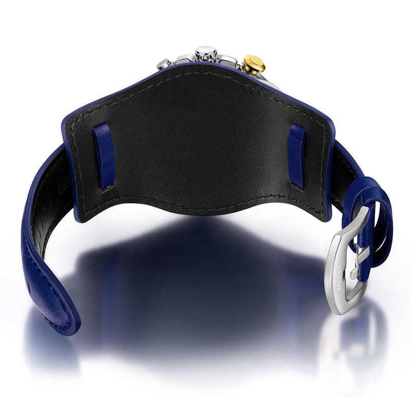 Reloj hombre 2019 MEGIR montres à Quartz Sport de luxe pour hommes Top marque de luxe homme militaire chronographe montre-bracelet en cuir montres