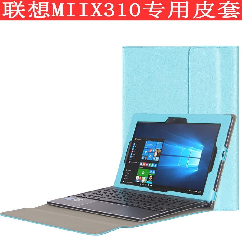 Fashion PU Case cover for 10.1 inch lenovo MIIX 310-10ICR tablet pc for lenovo miix 310 case cover