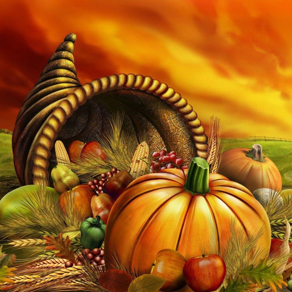 Открытка с день благодарения