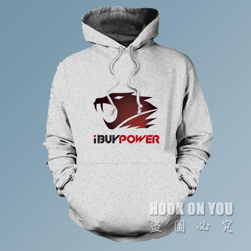 free shipping ibuypower LOGO Print Men women Gaming Hoodies sweatshirts LOL CSGO Team athletics Clothing