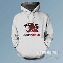 Freies verschiffen ibuypower logo druck männer frauen gaming hoodies sweatshirts lol csgo leichtathletik-team clothing