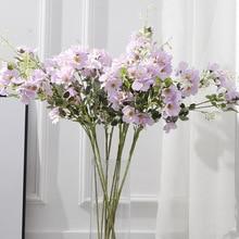Klonca Fresh Natural Silk Flower 90cm 1pc Fake Artificial Floral Branches Wedding Home Decoration