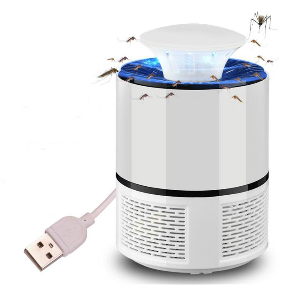 USB Electric Mosquito Killer Lamp LED UV Night Light Anti Fly Mosquito Zapper Muggen Killer Insect Trap(China)
