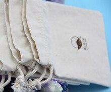 CBRL lienzo personalizado bolsa con cordón barato, caja de joyas de tela de algodón bolsa de lona al por mayor de santa saco para joyería de regalo cosméticos