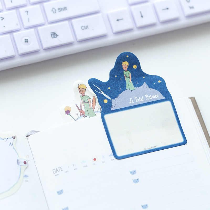 Маленький принц Блокнот N Times sticky notes планировщик мультфильм бумажная этикетка стикер для канцелярских товаров Закладка блокнот школьные принадлежности
