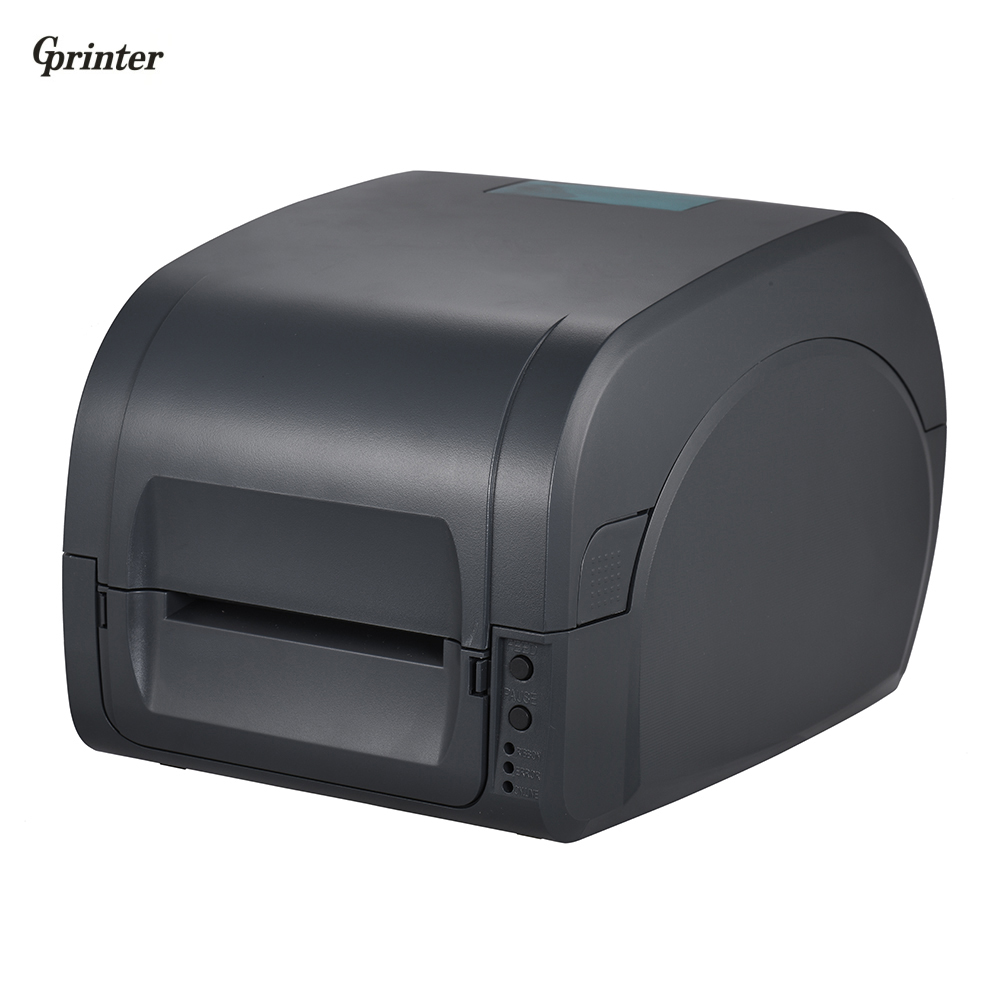 Gprinter Thermal Transfer Printer Label Receipt Barcode Printer 80mm Print Width USB Interface for POS Logistic Jewlery Retail