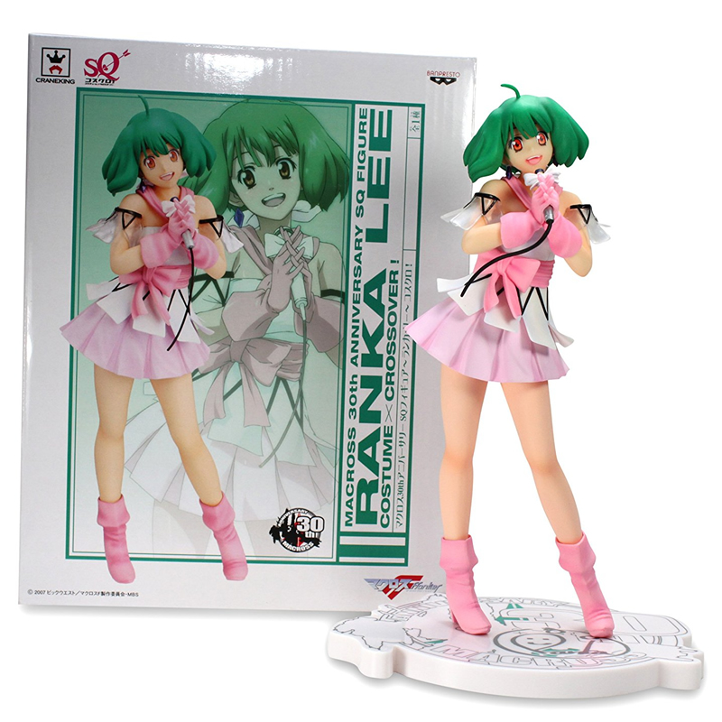 22CM Japanese Version Macross F 30th Anniversary Commemorative Edition Ranka Lee PVC Action Figure gift for boys deep purple deep purple stormbringer 35th anniversary edition cd dvd