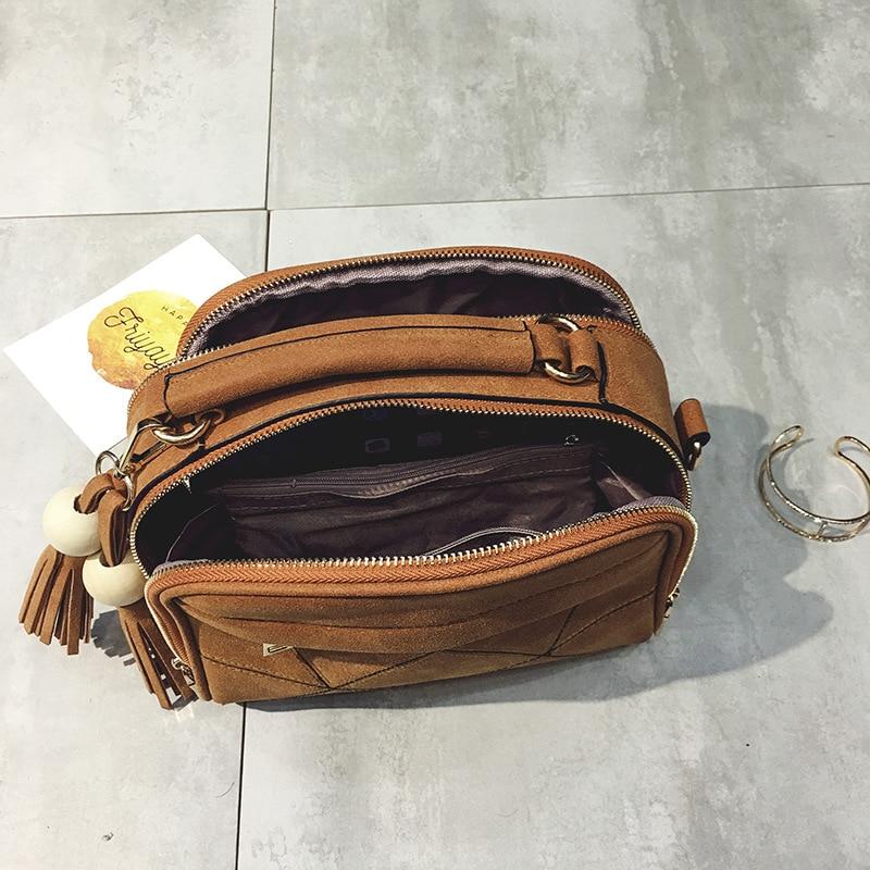 couro para mulheres bolsa do Formato : Mochilas