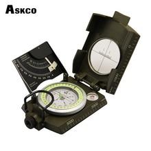 Mulitifunctional Askco Survival Military Compass Camping Hiking Compass Геологический компас Цифровой компас Кемпинговое оборудование