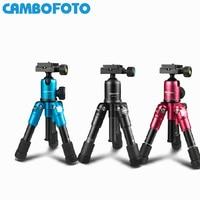 CAMBOFOTO M225+CK30 Mini Tripod For Camera Video Flexible Tripodes Para Camaras Professional With Ball Head For Canon Nikon DSLR