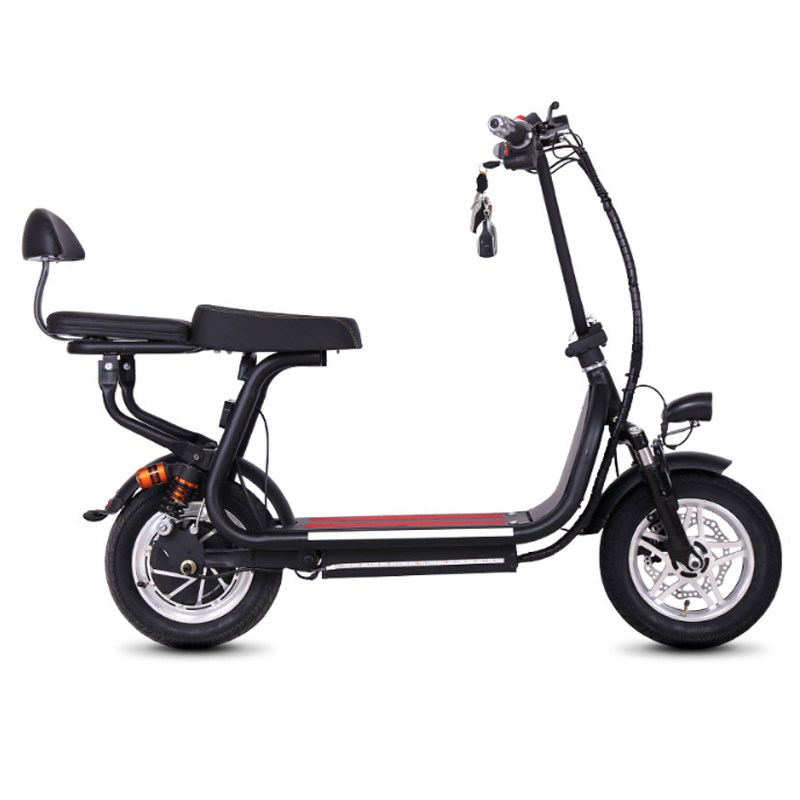 12 pollice mini bici Elettrica a due ruote pieghevole batteria al litio bici adulta della bicicletta del pedale di scooter Comodo piccolo bici elettrica