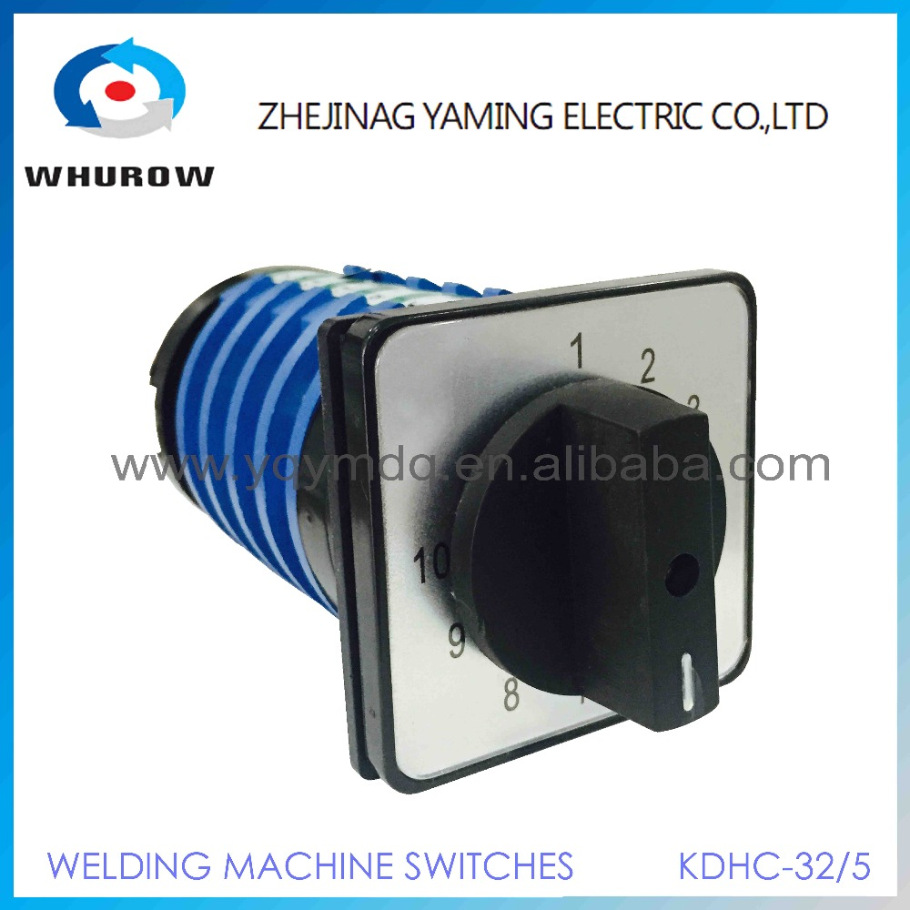 KDHC-32/5*10 10 position 5 phase electrical switches for CO2 welding machine changeover rotary switch High quality AC50Hz 380V 5pcs lot high quality 2 pin snap in on off position snap boat button switch 12v 110v 250v t1405 p0 5