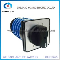 KDHC 32 5 10 10 Position 5 Phase Electrical Switches For CO2 Welding Machine Changeover Rotary